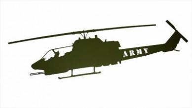 Cobra Green Wall Mount Laser Cut ARMY
